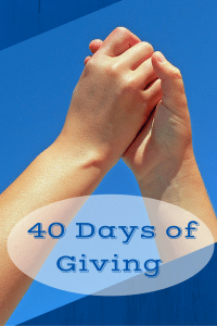 40 Days of Giving