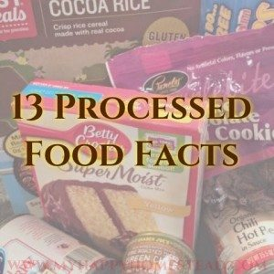 Processed Food Facts, Sugar, Food Dye, GMO, Refined Flour, Healthy Living