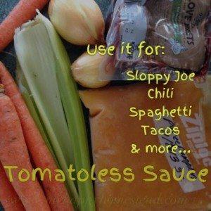 Dinner, sauce, recipe, nightshade free, nightshade intolerance