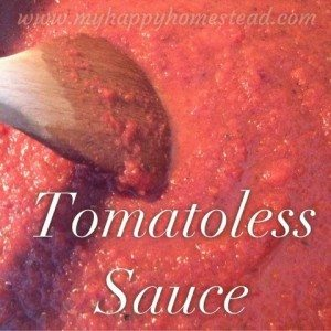 Tomato-less Marinara -no tomato, nightshade free, pasta sauce, recipe, the perfect allergy friendly dinner solution