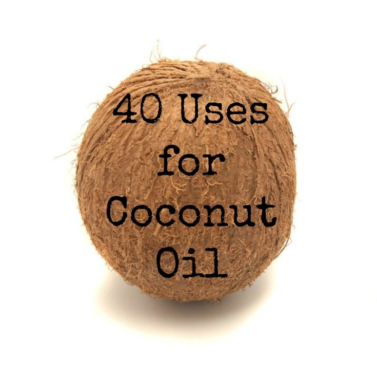 40 Uses for Coconut Oil - Coconut oil can be used for skin, hair, breastfeeding, and so much more...find out how you can use coconut oil in your life and sharing two recipes