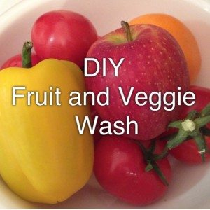 DIY Fruit and Veggie Wash jennyirvine.com