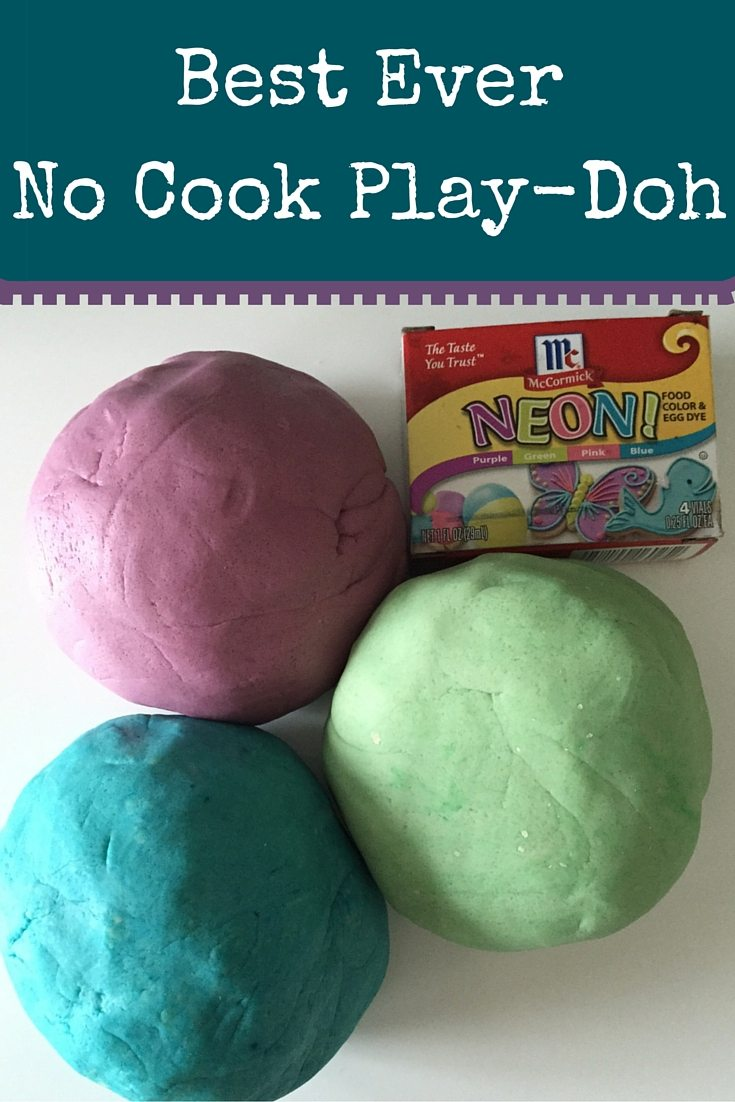 The Best Ever Play-Doh Recipe