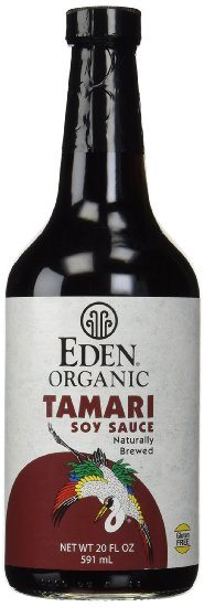 Eden Organic Tamari Soy Sauce - A Gluten Free Alternative to Traditional Soy