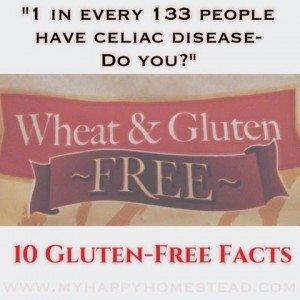 gluten free, no gluten, celiac disease