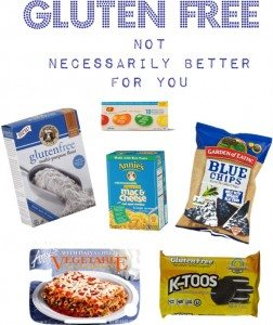 Gluten-free Not Necessarily Better For You