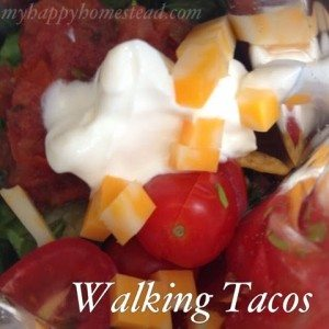 Quick and Easy walking tacos recipe, Mexican food, gluten free, kid friendly, lunch ideas