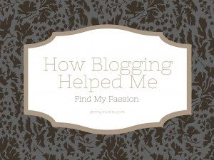 How Blogging Helped Me