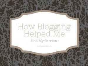 How Blogging Helped Me