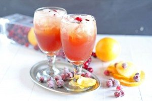 Cranberry-Brunch-Punch - Mothers Day Brunch Meal Plan Idea