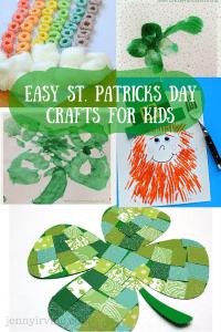 Easy St. Patricks DayCrafts For Kids