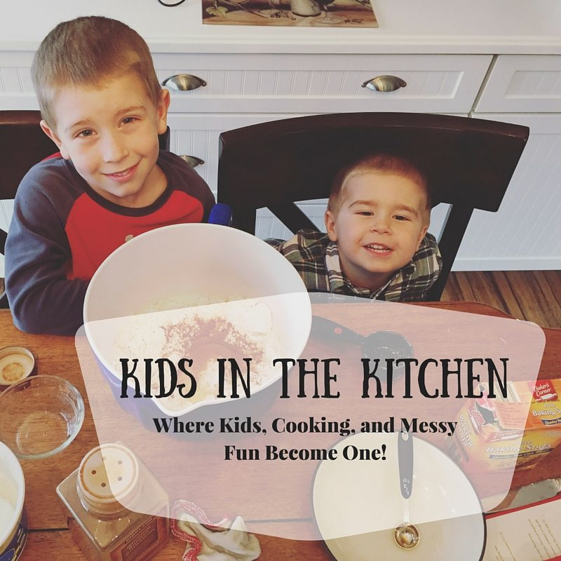 Kids In The Kitchen - where cooking, learning, and mess become one