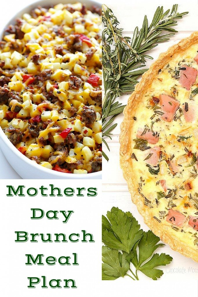 Mothers Day Brunch Meal Plan - When Moms Happy Everyone is Happy
