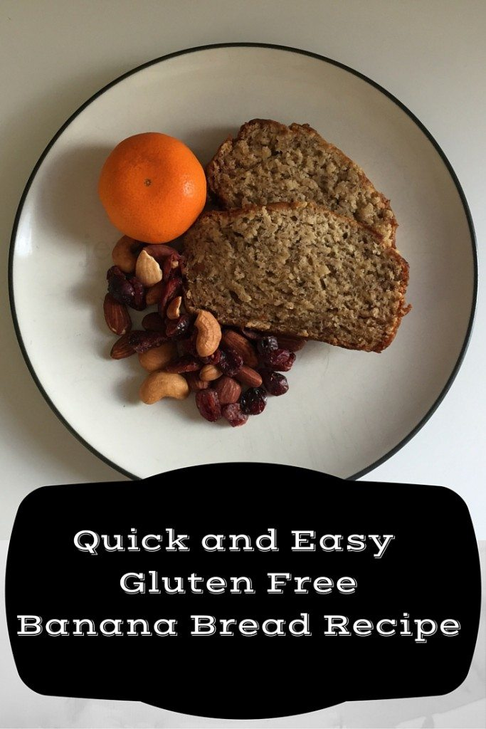 Quick and Easy Gluten FreeBanana Bread Recipe