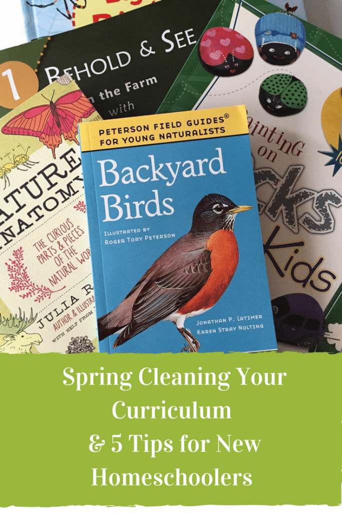 Spring Cleaning Your Curriculum And 5 Tips for New Homeschoolers from a Mom of Four