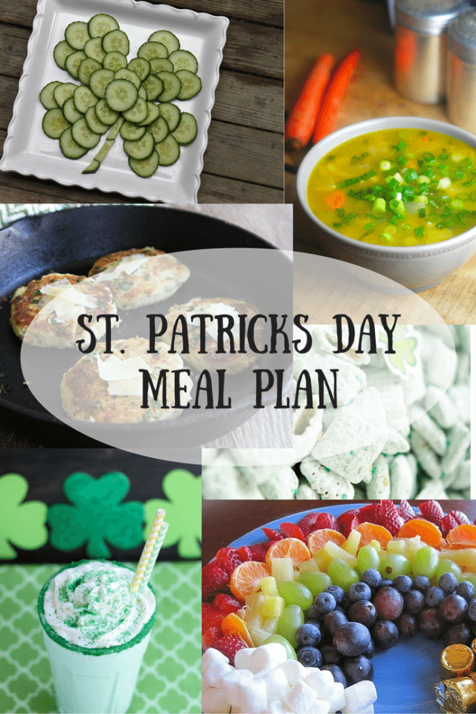 St. Patricks DayMeal Plan