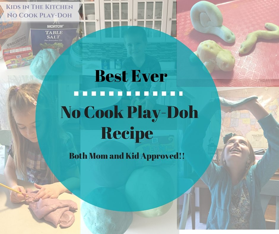 Best No Cook Play-Doh a Multi-Sensory Learning Experience