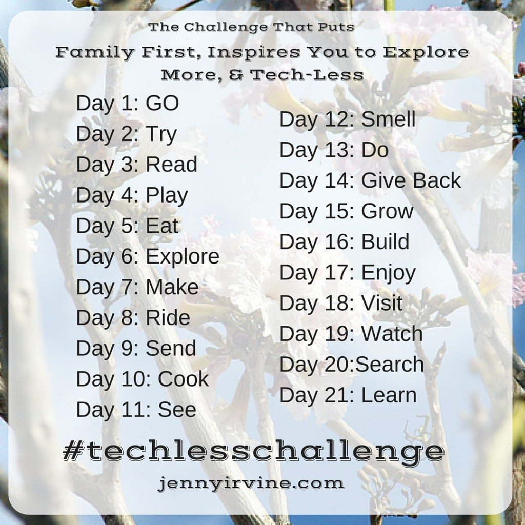 21 Day Tech Less Challenge - Why I took are kids electronics away for 21 days