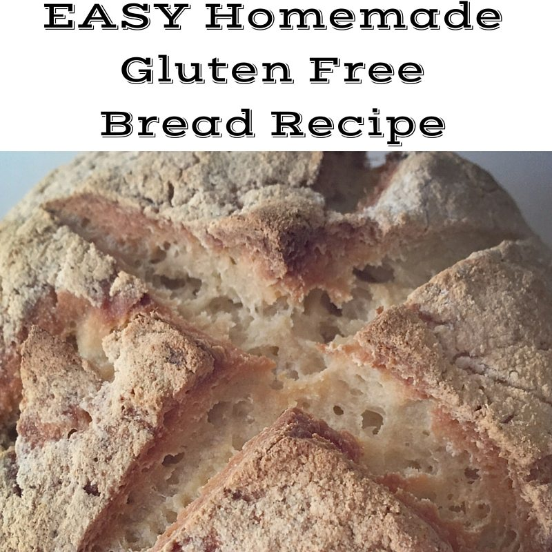 EASY Homemade Gluten FreeBread Recipe