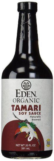 Eden Organic Tamari Soy Sauce - A Gluten Free Alternative to Traditional Soy